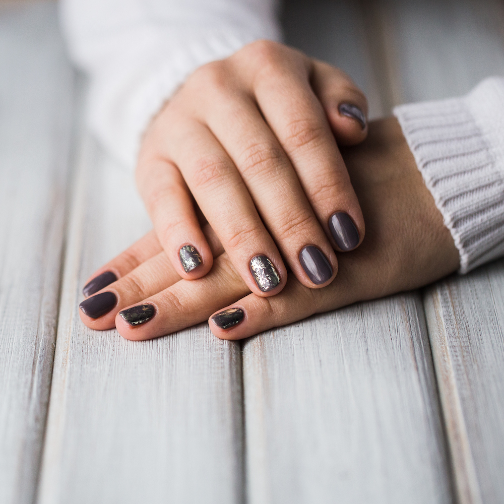 Hands with beautiful manicure